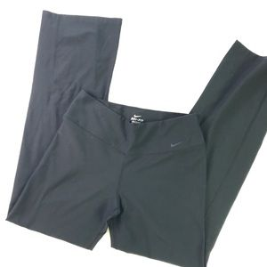 Nike Dri Fit Athletic pants in black, flaired leg